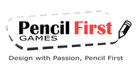 pencil first game logo